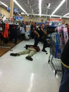 Can I do this while shopping in Wal-Mart...Citizen's Arrest?