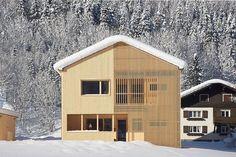 Johannes Kaufmann Architektur . Doppelhaus ISLEN . Mellau (1)