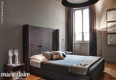 A Milan, l'appartement d'un architecte d'intérieur