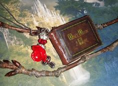 Once Upon a Time handmade necklace based on Henry's book!