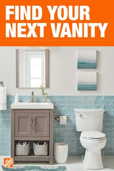 The Home Depot Carries A Wide Selection Of Bathroom Vanities. Get A Bathroom  Vanity That Is Made To Last, Suites Your Style And Fits Your Budget.