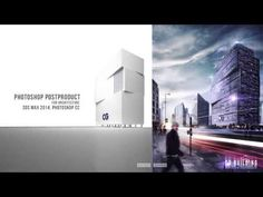 Photoshop post production - Architectural visualization [Show layer] - YouTube