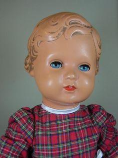 P989/ Alte Schildkröt Celluloid Puppe Erika ca. 56 cm. um 1950 | eBay
