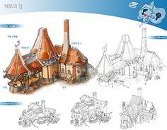 GGSCHOOL, Artist 전미나, Student Portfolio for game, 2D Scene Concept Art, www.ggschool.co.kr