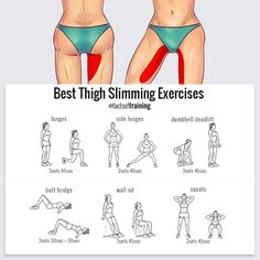 """8,281 Likes, 85 Comments - factsoftraining® (@factsoftraining) on Instagram: """"To sculpt your thighs, do these exercises LIKE if you found this useful and FOLLOW…"""""""