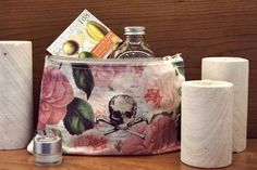 Tokyo Milk Skull With Roses Cosmetic Bag available from No.31.