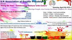 HOLI KE RANG - AAP KE SANG at Bharatiya Temple, 1612 County Line Road, Chalfont, PA, Tickets, Indian Events Desi Events