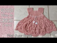Moda Crochet, Crochet Girls, Crochet Baby Clothes, Crochet Cowl Free Pattern, Baby Knitting Patterns, Baby Patterns, Baby Shower Snacks, Baby Princess, Chloe Grace