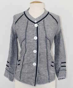 Awesome Womens Piccadilly Fashions Navy Blue Chambray Linen Blend 3/4 Sleeve Shirt Top S 2017-2018 Check more at http://24shopping.tk/product/womens-piccadilly-fashions-navy-blue-chambray-linen-blend-34-sleeve-shirt-top-s-2017-2018/
