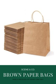 """Paper Gift Bags with Handles 8/"""" x 10.25/"""" x 4.25/"""" for Arts /& Crafts Projects 13"""