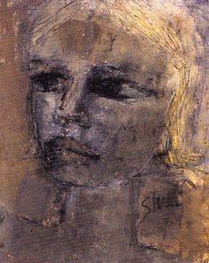 "stuartist: "" Portrait of Astrid Kirchherr by Stuart Sutcliffe, her fiancee "" The Beatles 1960, Beatles Art, Stuart Sutcliffe, The Quarrymen, Graphic Eyes, Summer Painting, The Fab Four, Abbey Road, Shooting Stars"