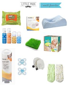 one month baby favorites products www.myblossomingbud.blogspot.com