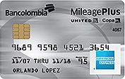 United-Copa | American Express mileage plus premium | Bancolombia