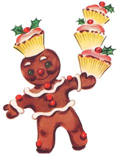 Christmas Gingerbread chef. #gingerbread #Christmas