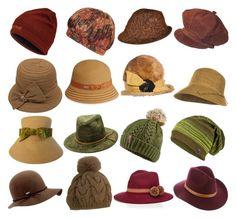 Soft Autumn hats by glirendree on Polyvore featuring moda, YOSUZI, Jean Louis, Alberta Ferretti, Schiaparelli, Coal, Yves Salomon, Swan, Marmot and Billabong