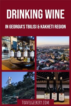 Discover the best wineries in Kakheti, Georgia and the best wine bars in Tbilisi. With this Georgia wine guide, I'll show you where to taste the best wine in Tbilisi (incl. Saperavi wine) and which wineries and vineyards to travel to in the Kakheti Region in Georgia.Tips on types of Georgian wine included!#wine #georgia #tbilisi #kakheti #travelgeekery European Travel Tips, Travel Tips For Europe, Europe On A Budget, European Destination, Wine Bars, Central And Eastern Europe, Wine Guide, Heart Of Europe, International Travel Tips