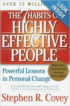 The 7 Habits of Highly Effective People: Powerful Lessons in Personal Change: Stephen R. Covey: 9780743269513: Amazon.com: Books