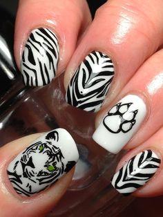 Tiger Stripes!
