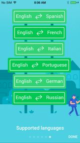 If you travel abroad you can't go wrong with Google Translate on your phone. Use your camera to translate signs and more.  Download in iTunes or Google Play