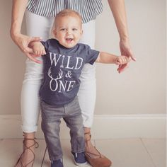 Wild One Birthday Boy Year Old Outfit And First Shirt