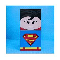 DIY Printable Superhero Cupcake Holder