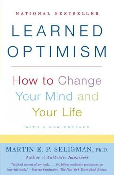 Known as the father of the new science of positive psychology, Martin E.P. Seligman draws on more than twenty years of clinical research to demonstrate how optimism enchances the quality of life, and