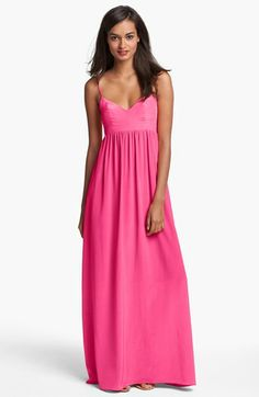 Amanda Uprichard Silk Maxi Dress. Love.