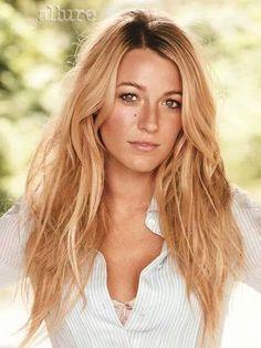 Blake Lively, i love her hair color