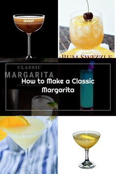 "A classic and ""real"" margarita recipe made with tequila, fresh lime juice, triple sec, and simple syrup. #margarita #cocktail Margarita Recipes, Alcoholic Drinks, Cocktails, Margarita Cocktail, Triple Sec, Fresh Lime Juice, Simple Syrup, Tequila, Cocktail"