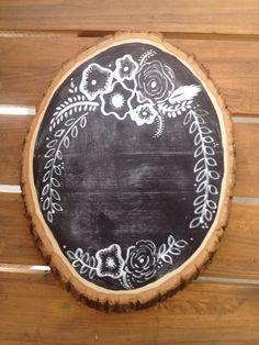 Chalkboard Chalkboard Sign Wedding Sign Chalk by SugarAndChicShop, $25.00