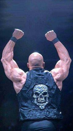 Stone Cold Steve Austin - WWE Austin Wwe, Steve Austin, Wrestling Posters, Men's Wrestling, Wrestling Costumes, Divas, Stone Cold Steve, Go Game, Wwe Tna