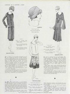 L'Officiel 1925 Roaring Twenties, The Twenties, Flapper Era, Historian, French, French People, French Language, France