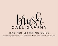 This download includes: • a custom ProCreate calligraphy pen by Clara Riemer • two instructions (installation of ProCreate pen;) Insert worksheets in ProCreate) • 10 sheets (introduction to the application of the Apple pencil; Alphabet on one side; all lowercase letters A-Z + ß; Connect letters) • a lined sheet and a polka-dotted sheet to independent practice : Tips and FAQs: Friends download the zip files and open at the beginning of the instructions. In it you can find out how you op...