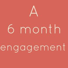 Wedding Planning Checklist for a 6 Month Engagement.  This site also has lists for a 4 month & 6 month engagement as well.