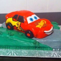 First birthday. Cars themed.