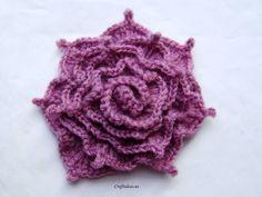 Crochet Irish Rose - Tutorial