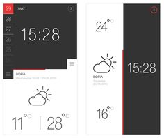 Weather and Time 1 and 2 - Free PSD | sm-artists.com