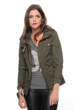 Army Green Jacket forever 21