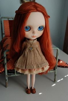 Miss Ruby. by AnyoneCanQuilt, via Flickr