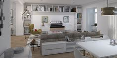Livingroom | Madrid |February 2016 #render #rendering #decor #decoraction #interior #interiordesign