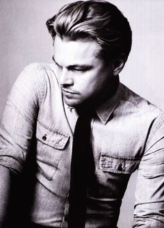 Leonardo Dicaprio. Been in love with him since I was a tween lol
