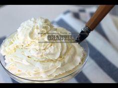 Veja como é super fácil fazer Chantilly de verdade!! - YouTube Mousse, Cupcakes, Chocolate, Macarons, Icing, Product Launch, Desserts, Food, Youtube