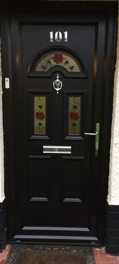 If you're wanting double-glazed Front Doors that are bold, our uPVC Front Doors Black in colour are a perfect option. They even match with our Black Windows range, click the link now to see our Front Door uPVC range.   #upvcfrontdoor #homedecor #homeideas #blackdoor #blackupvc #blackfrontdoor #blackwindows #blackwindow