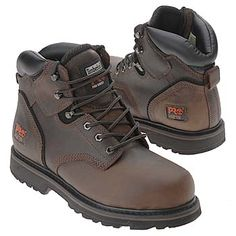 Timberland Pro Pro Steel Toe Boots (Brown Oiled Leather) - Men's Boots - 14.0 M