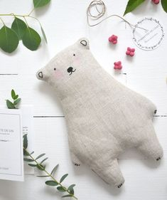 Baby Sewing Projects, Sewing For Kids, Diy For Kids, Sewing Crafts, Sewing Stuffed Animals, Stuffed Toys Patterns, Felt Crafts, Fabric Crafts, Fabric Toys
