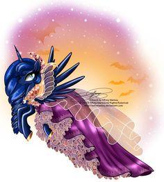MLP: Luna's Halloween Dress