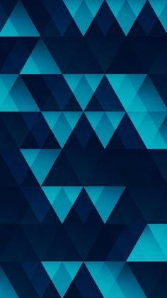 картинка в We Heart It Backgrounds Wallpapers, Blue Wallpapers, Iphone Wallpapers, Logos Retro, Graphic Wallpaper, Art Drawings For Kids, Triangle Pattern, Pattern Wallpaper, Color Patterns