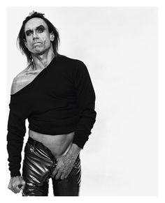Iggy Pop - American singer-songwriter, musician and actor. Iggy Pop, Diane Arbus, Vogue, Vanity Fair, Iggy And The Stooges, International Fashion Designers, Interview, Famous Photographers, Music Icon