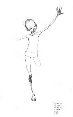 "drawings | HERAKUT ""You made me feel so whole again"""