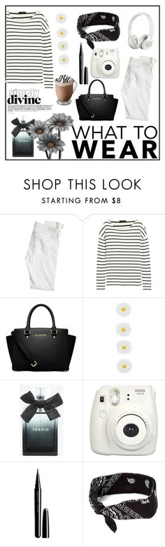 """""""BLACK FRIDAY"""" by alisijaa ❤ liked on Polyvore featuring AG Adriano Goldschmied, J.Crew, MICHAEL Michael Kors, Beats by Dr. Dre, Monsoon, Torrid, Marc Jacobs, claire's, blackandwhite and shoptilyoudrop"""
